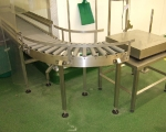 Conveyors - gravity fed roller conveyor