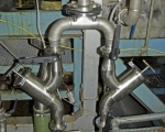 Pipe Fitting - filtration pipe assembly