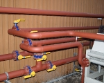 Pipe Fitting - chiller carbon steel pipework