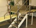 Platforms and Gantries - stainless steel access platform