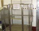 Racking and Cages - forklift access cage