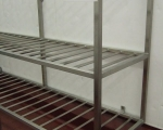 Racking and Cages - stainless steel racking