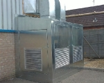 Racking and Cages - galvanised steel enclosure